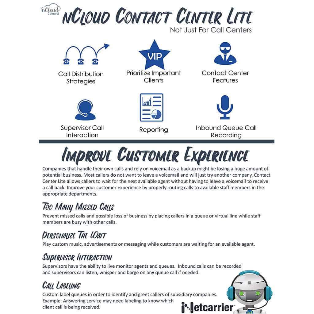ncloud connect contact center lite